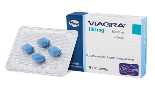 VIAGRA - liek na podporu erekcie