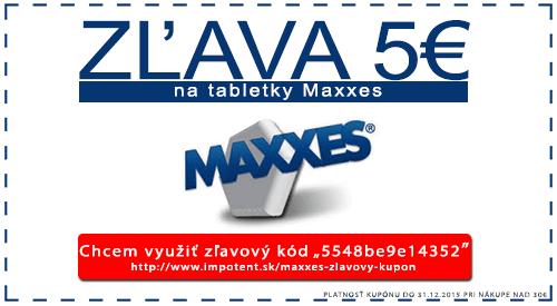 Maxxes zľavový kupón