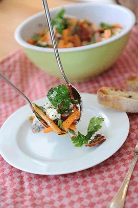 Zdravá strava s väčším obsahom zelenej zeleniny
