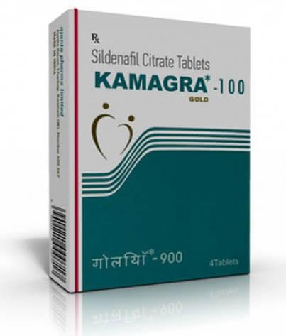 Kamagra GOLD s obsahom 100 mg Sildenafilu