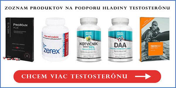 Tablety na zvýšenie testosterónu