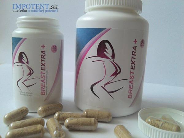 Tabletky MegaPrsia resp. BreastEXTRA+