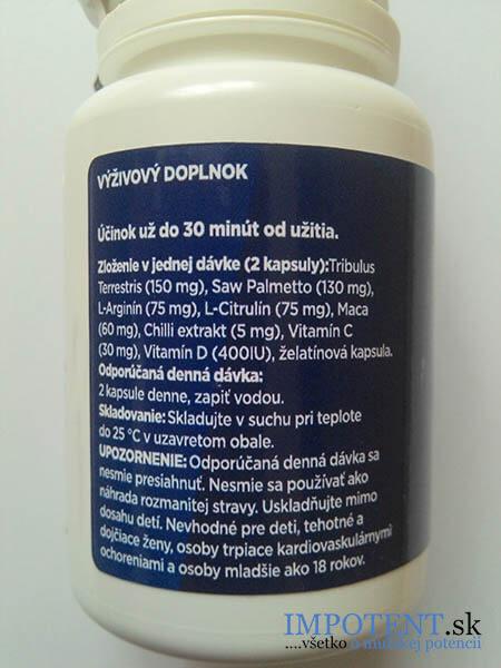 Zloženie tabletiek eJoy