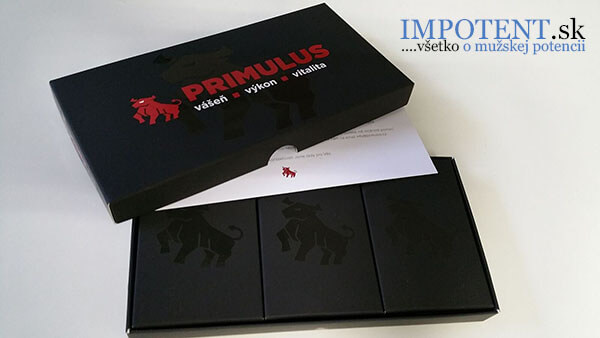 PRIMULUS - multivitamín moderného muža