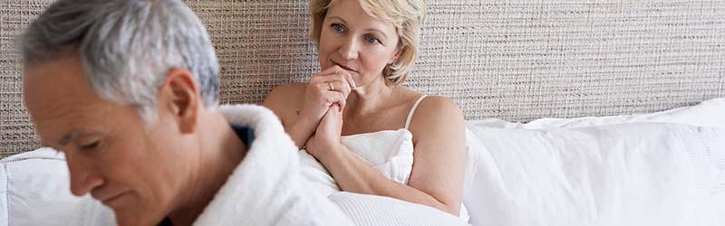 Príznaky andropauzy - impotencia