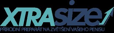 Logo prípravku XTRASIZE, ktorý má údajne zväčšiť penis o 7,5 cm
